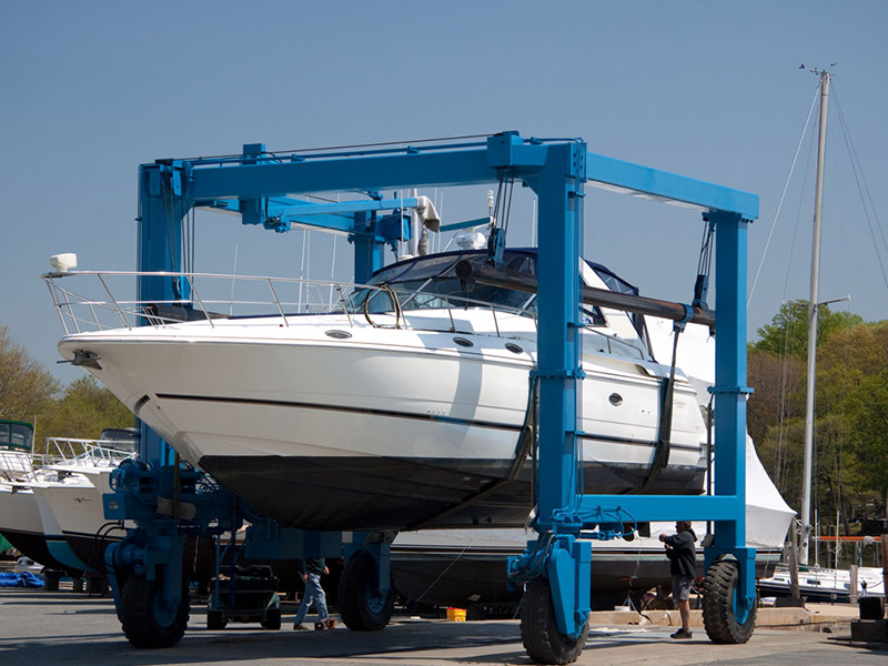 Bay Boat Travel Lift